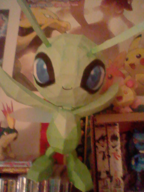 Celebi Papercraft 2 by PrincessStacie