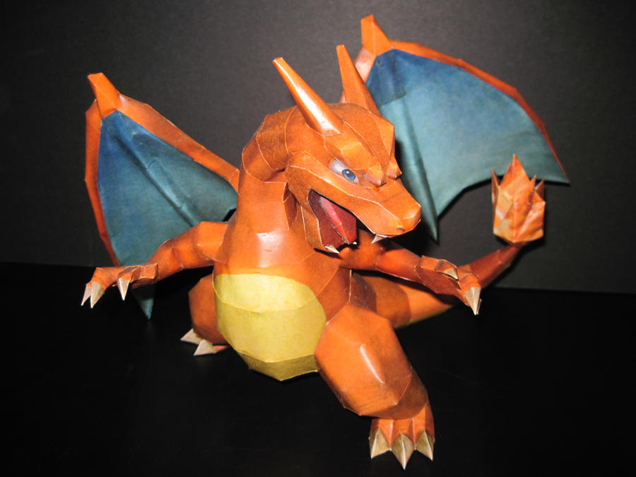 Charizard Papercraft: Brawl Version by PrincessStacie