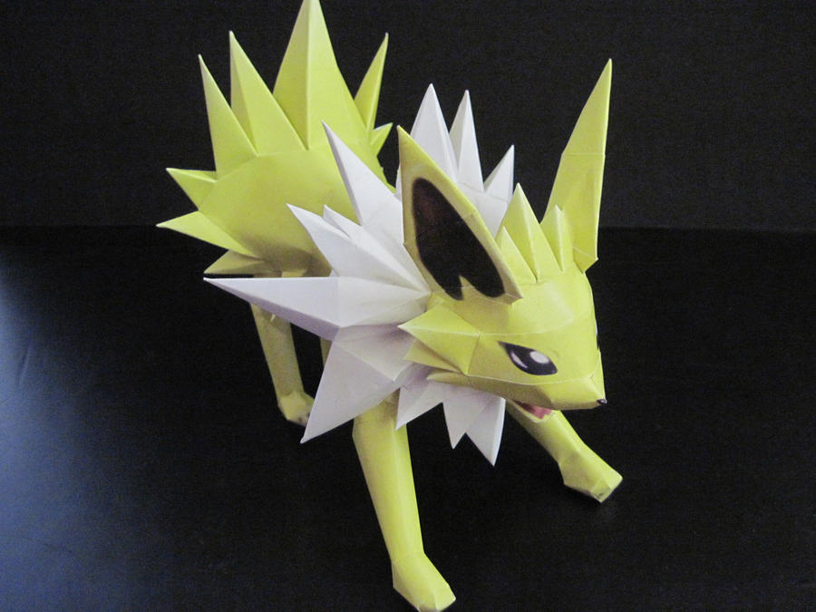 Jolteon Papercraft by PrincessStacie
