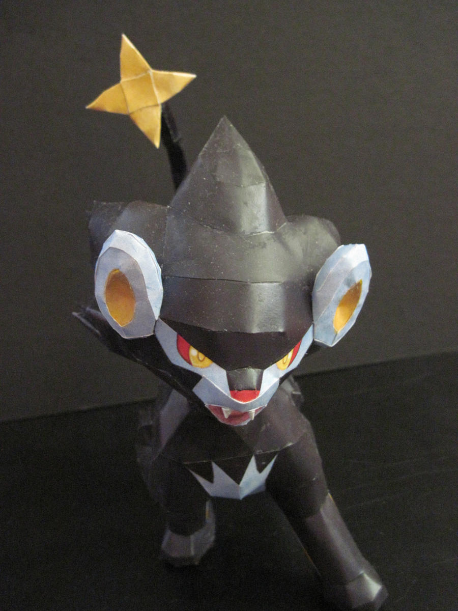 Luxray Papercraft by PrincessStacie