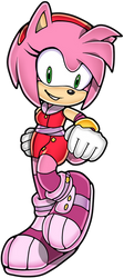 Amy Rose Boom Sonic Channel by Fivey