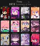 Fivey Art Summary of 2015