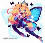 YCH - butterfly girl