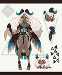 [OPEN ADOPTABLE] Demonic Angel - Shepherd + pet by Fivey