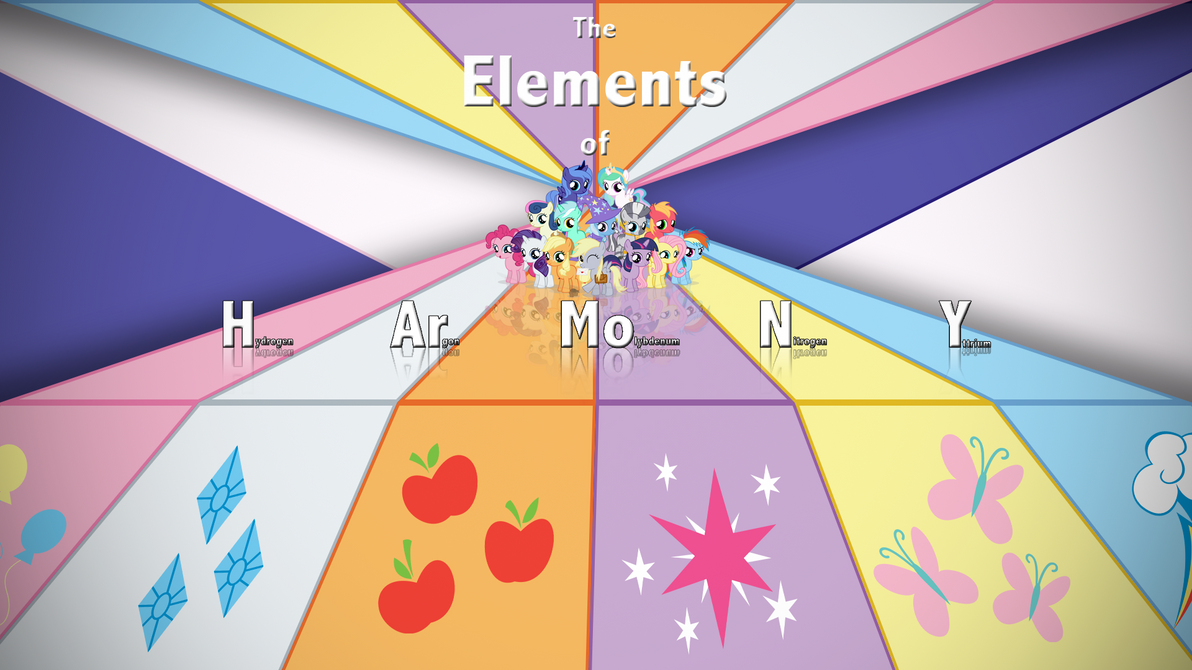 The Elements of H Ar Mo N Y by RealBoser