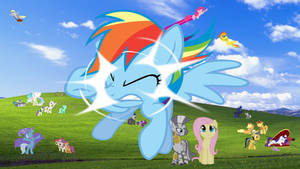 Windows Pony Wallpaper 16:9 (4510 x 2537)