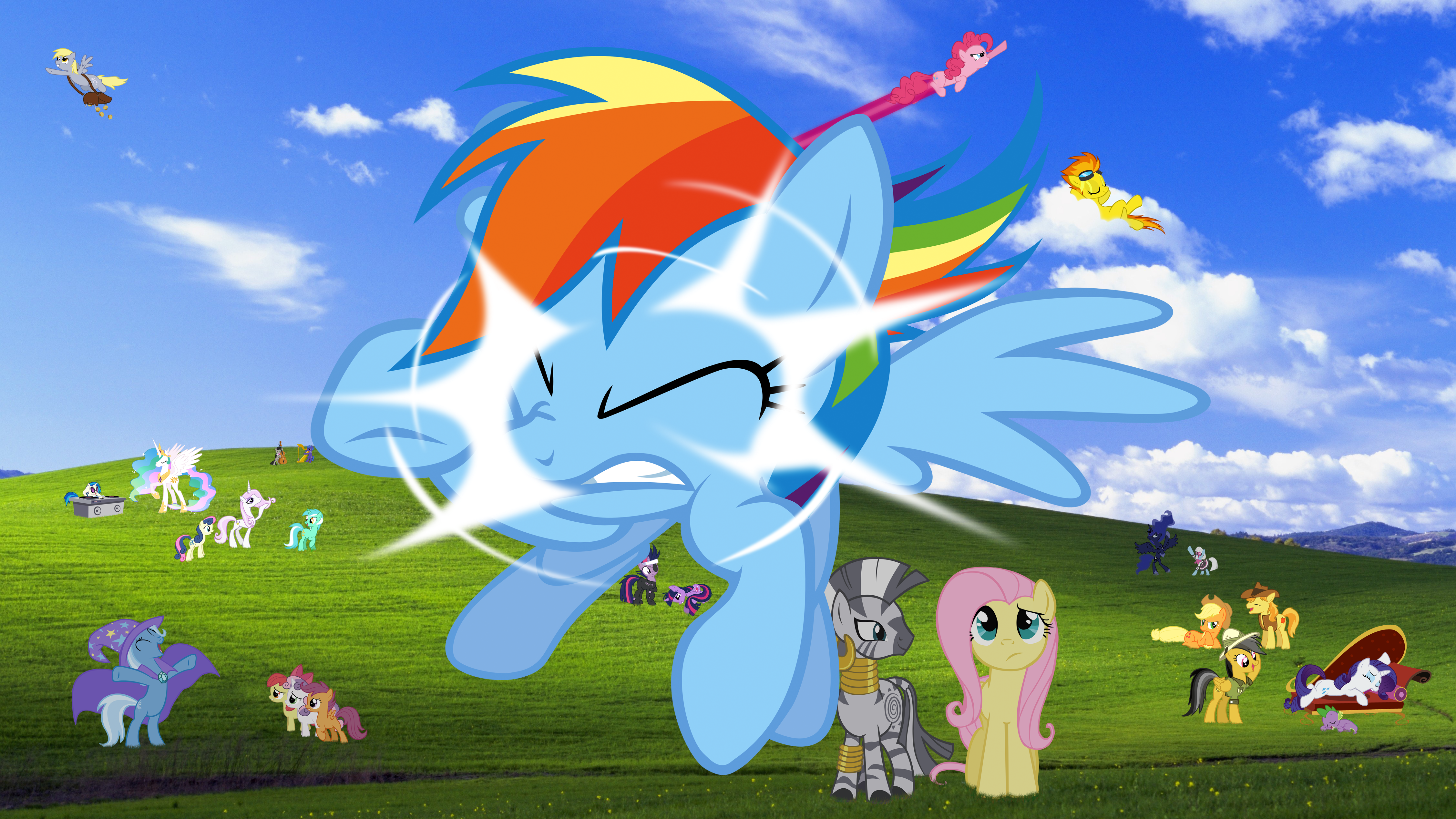 11 AWESOME MLP Windows Visa HD Wallpapers On Scratch