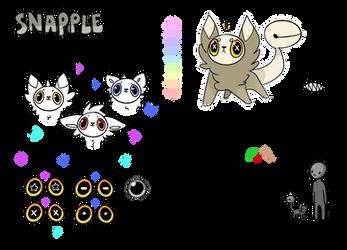 Snapple Species Guide ADDED RESOURCES by Oakiel