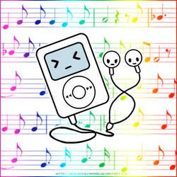 The iPod gone Tokidoki by Nko-ennekappao