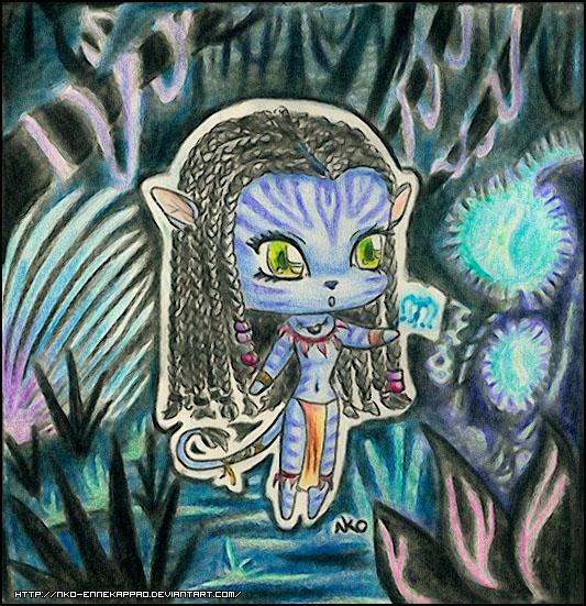 Avatar - Chibi Neytiri by Nko-ennekappao