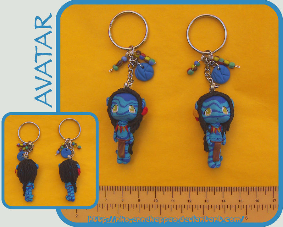 Chibi Navi Keychains - sold by Nko-ennekappao