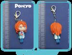 Ponyo- Chibi Fujimoto keychain