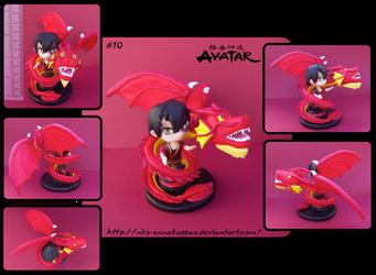 Avatar - Chibi Zuko figure by Nko-ennekappao