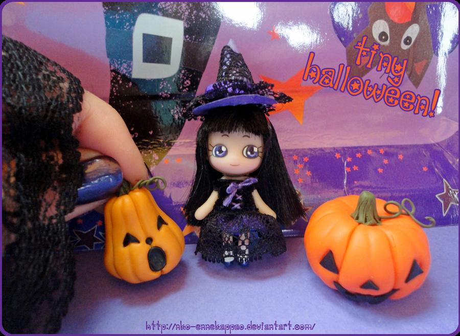 Tiny Halloween- Odeco keychain by Nko-ennekappao