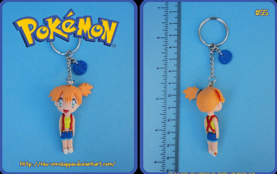 Pokemon - Misty Keychain by Nko-ennekappao