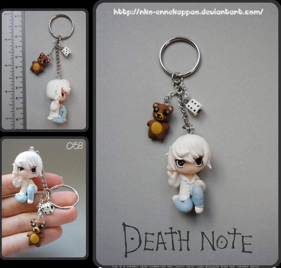 Death Note - Chibi Near keychain by Nko-ennekappao