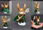 The Avengers - Chibi Loki figurine