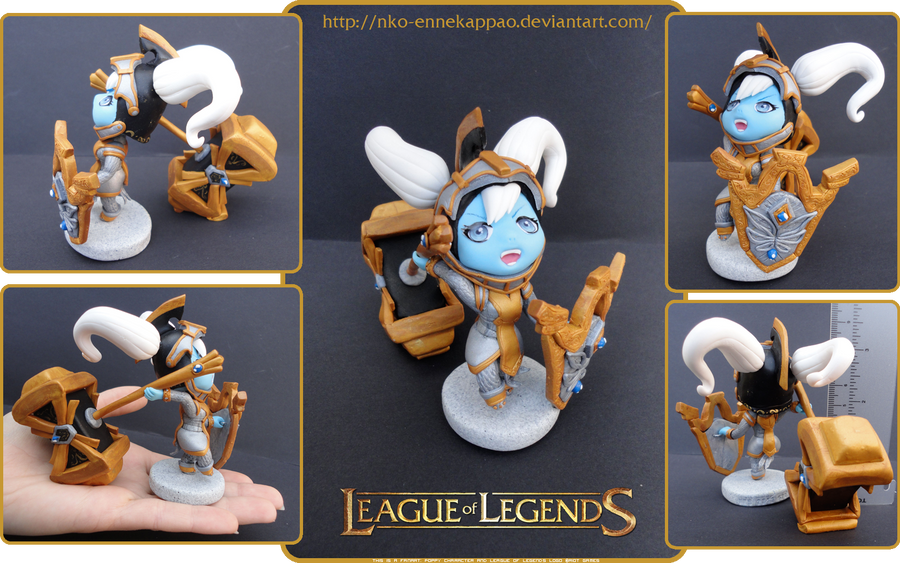 League of Legends - Battle Regalia Poppy figure by Nko-ennekappao