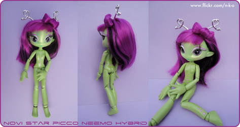 Repainted Picco Neemo body by Nko-ennekappao