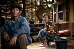 Laos Village Life VIII