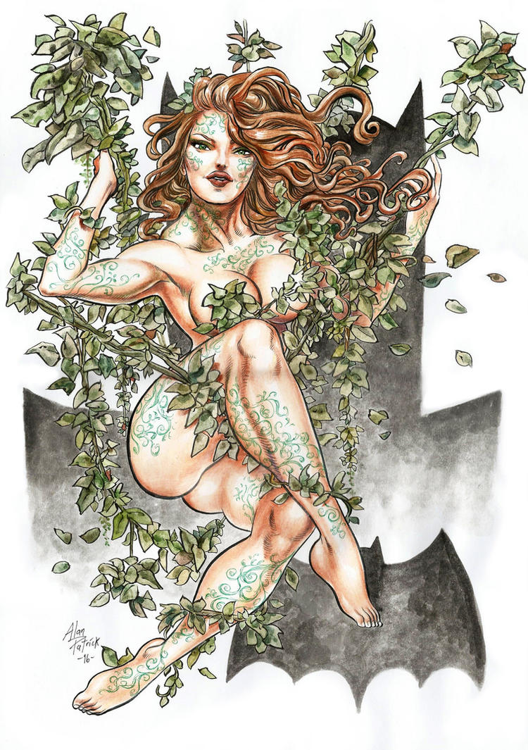 Poison Ivy at home by AllPat