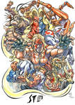Street Fighter 3 after Neal d Anderson color