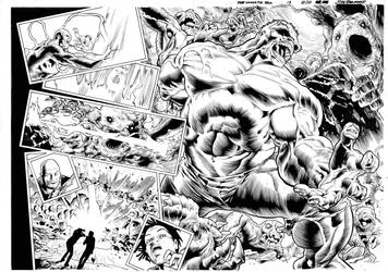 The Immortal Hulk Inks by AllPat