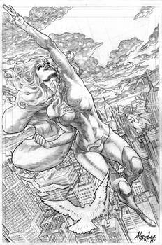 The Supergirl Flight
