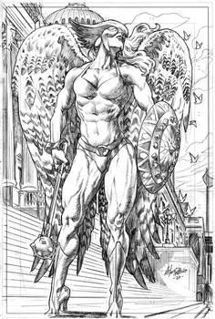 Hawkgirl Pencil
