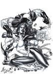 Wolverine And Mystique