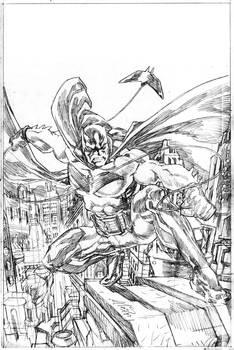 Batman White Knight Pencil