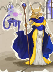 Shining Force Wizards by pinderhooks