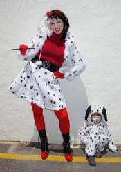 Cruella and Purdita Cosplay