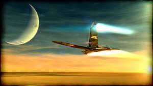 jiz Spaceship by jizzyjiz