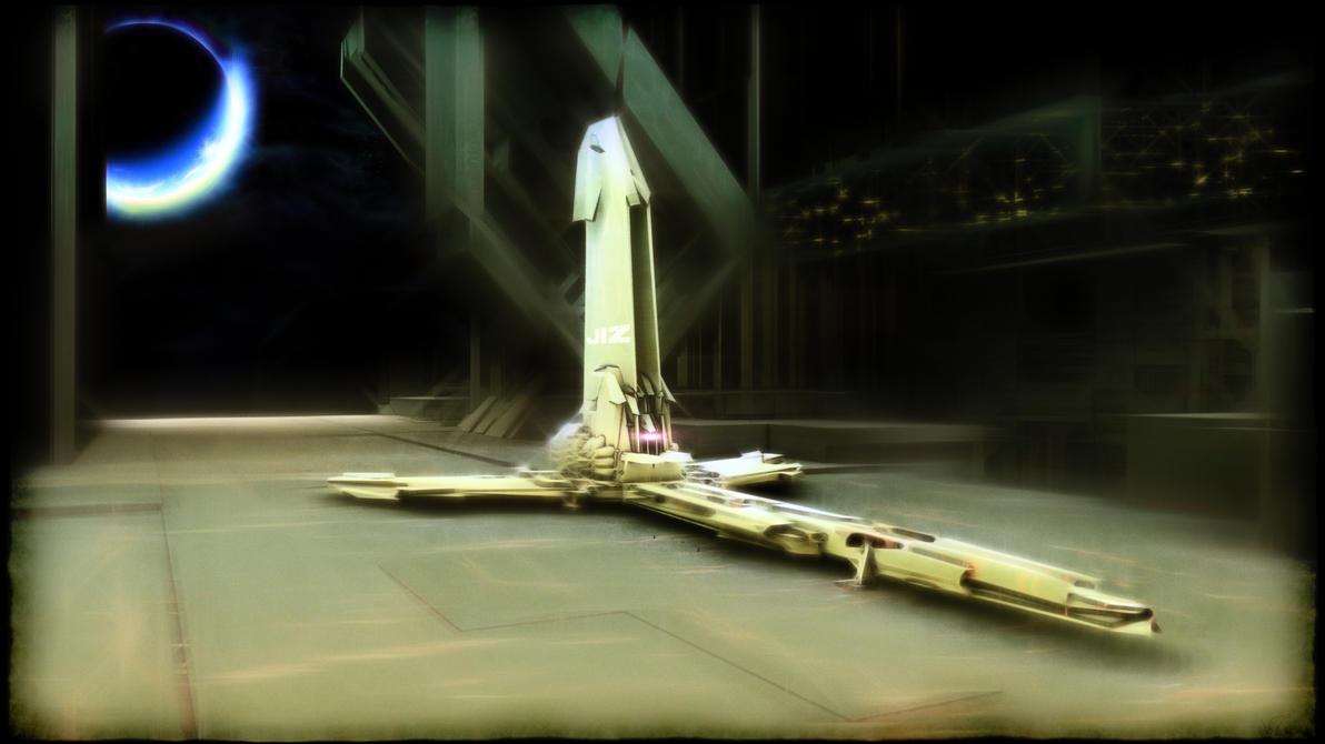 spaceship 2 by jizzyjiz
