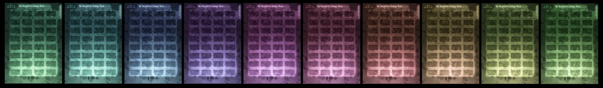 My Deviantart Stamps Book