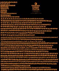 Chars From Mars_Ultimate Bitmapfont