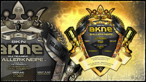 Bkne Logo 2016 Wallpaper 1080p by jizzyjiz