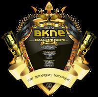 bkne LOGO BIG 2016 5k by jizzyjiz