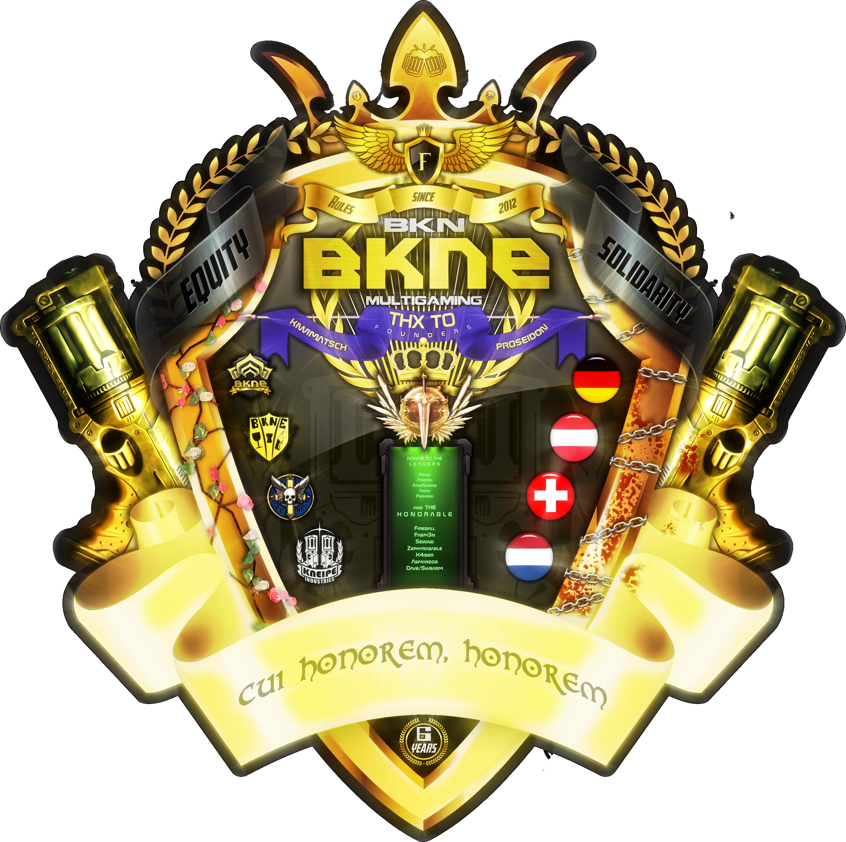Bkne Logo 22017 by jizzyjiz