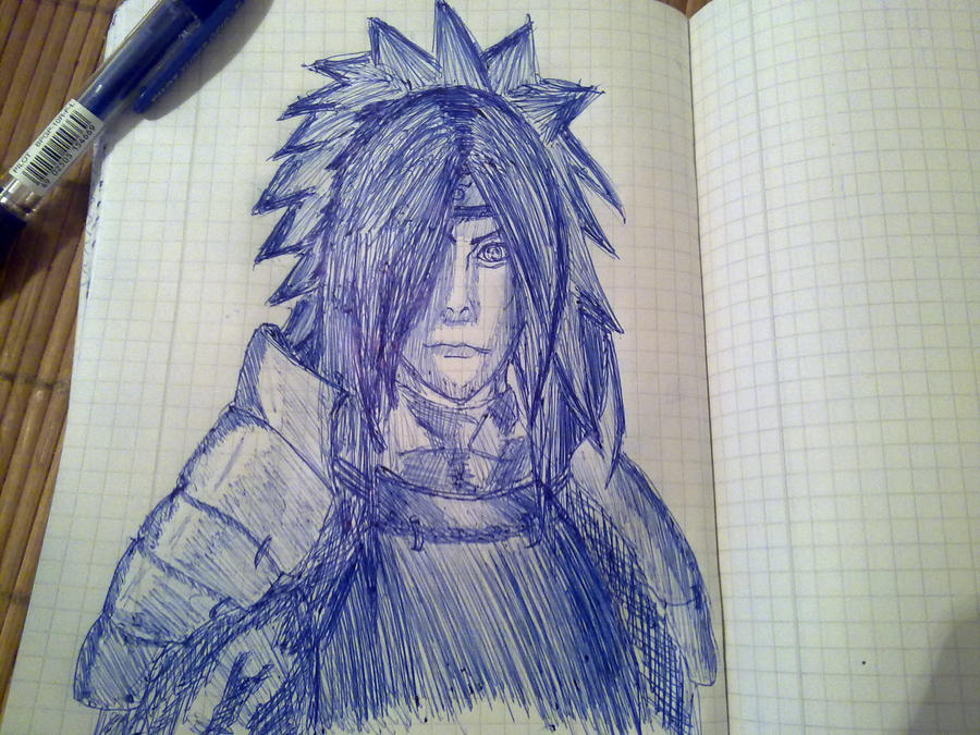 Madara pen made by KibaPandaRo