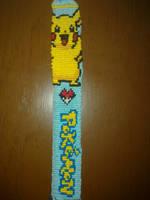 Pikachu bracelet by KibaPandaRo