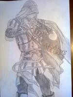 Asassins Creed Ezio by KibaPandaRo