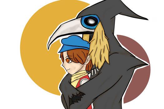 Cuervo [Profesor Layton y La llamada del Espectro]