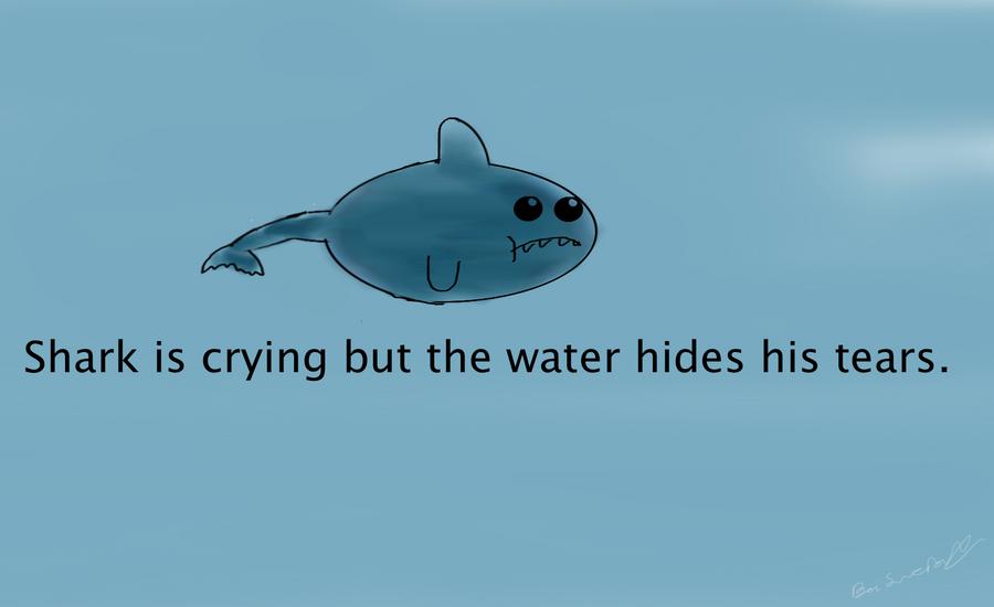 Depressed Shark by Ulrik-Von-Darkhorse