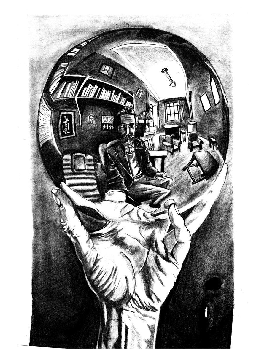 Mc escher practice drawing by mariahjab on deviantart for Mc escher gallery