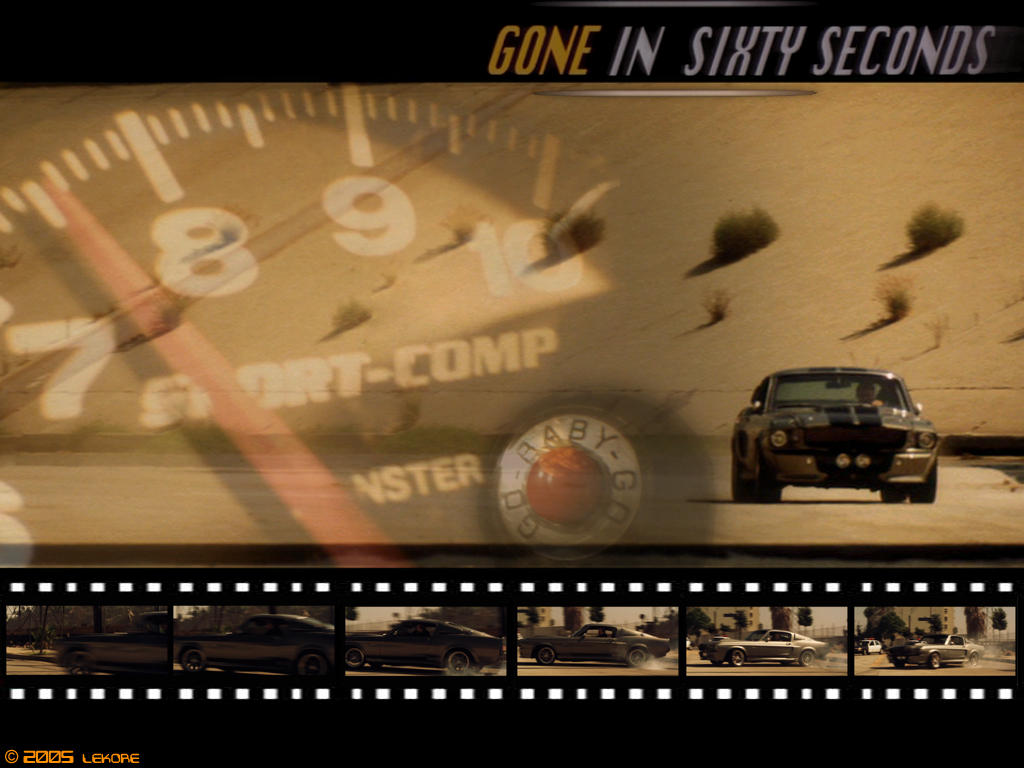 Gone In 60 Seconds 2 By Lekore On Deviantart