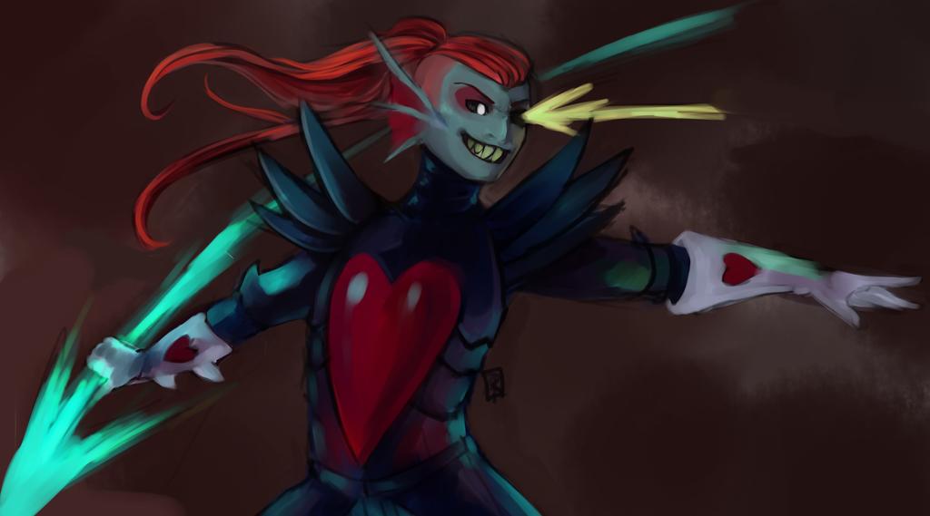 Battle Against A True Hero by skyph