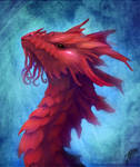 Coral dragon head