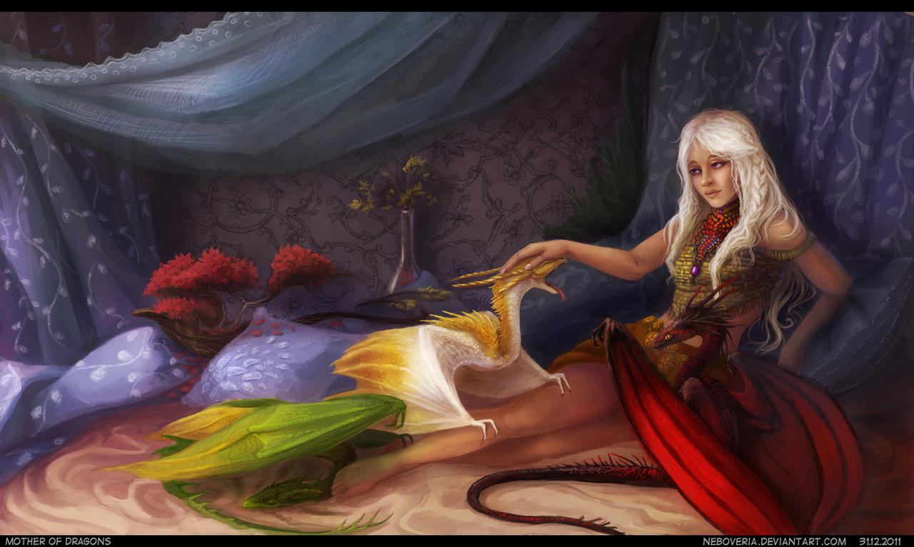 Mother of dragons by Neboveria
